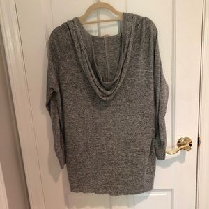 silence + noise Sweaters - silence and noise gray hoodie cardigan